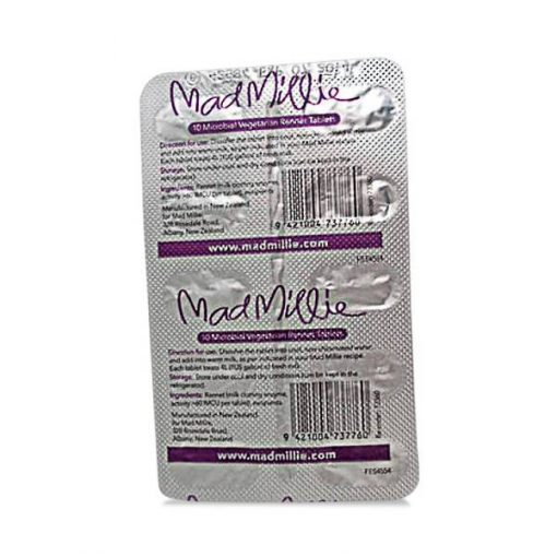 Mad Millie – Vegetarian Rennet Tablets