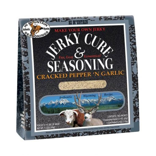 Cracked Pepper and Garlic Jerky Kit - Hi Mountain